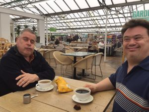 Coffee and chats at garden centres